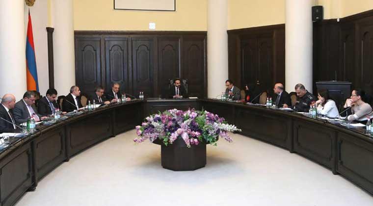 Տեղի է ունեցել Կորոնավիրուսի տարածումը կանխարգելող աշխատանքները համակարգող միջգերատեսչական հանձնաժողովի նիստը