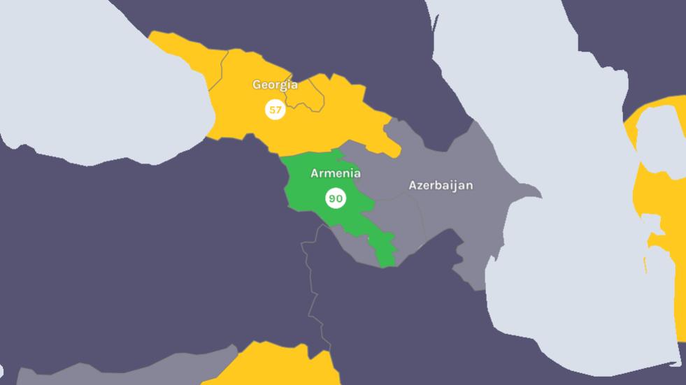 Հայաստանը նոր կորոնավիրուսի դեմ պայքարում բարձր ցուցանիշ է գրանցել