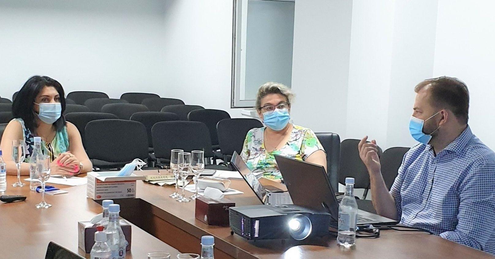 Գործընկերները քննարկել են կորոնավիրուսային հիվանդության դեմ պայքարի միջոցառումները